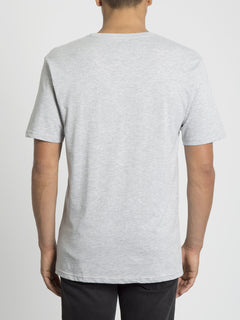 Crisp Euro T-shirt - Heather Grey (A3531951_HGR) [B]