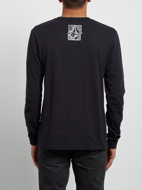Edge Long Sleeve Tee - Black