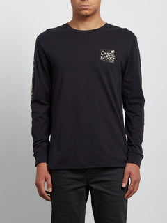 Last Resort Long Sleeve Tee - Black