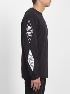V.I. Boxy T-shirt  - Black