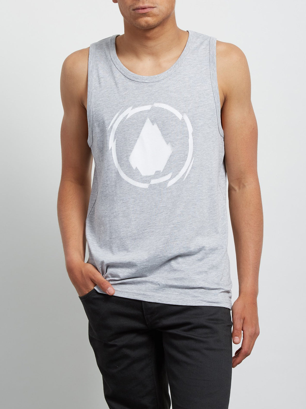 Shatter Tank - Heather Grey