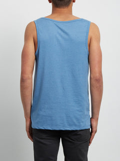 Pocket Heather Tank - Wrecked Indigo