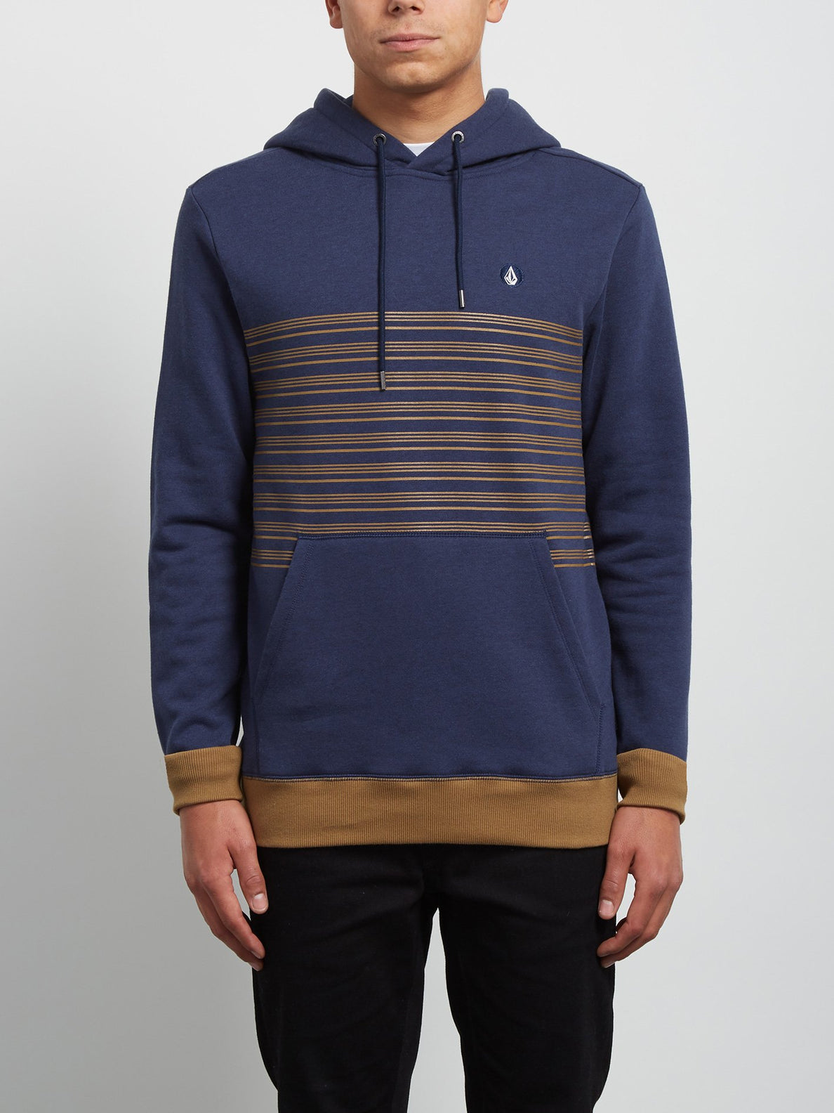 Threezy Hooded Pullover - Deep Blue