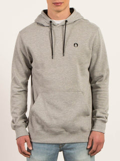 Single Stone Pullover Hoodie - Heather Grey