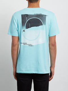 Over Ride Tee - Pale Aqua