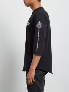 Enabler 3/4 Sleeve Tee - Black
