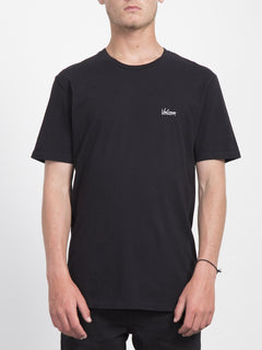 Impression T-shirt  - Black