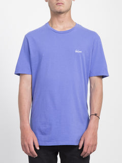 Impression T-shirt  - Dark Purple
