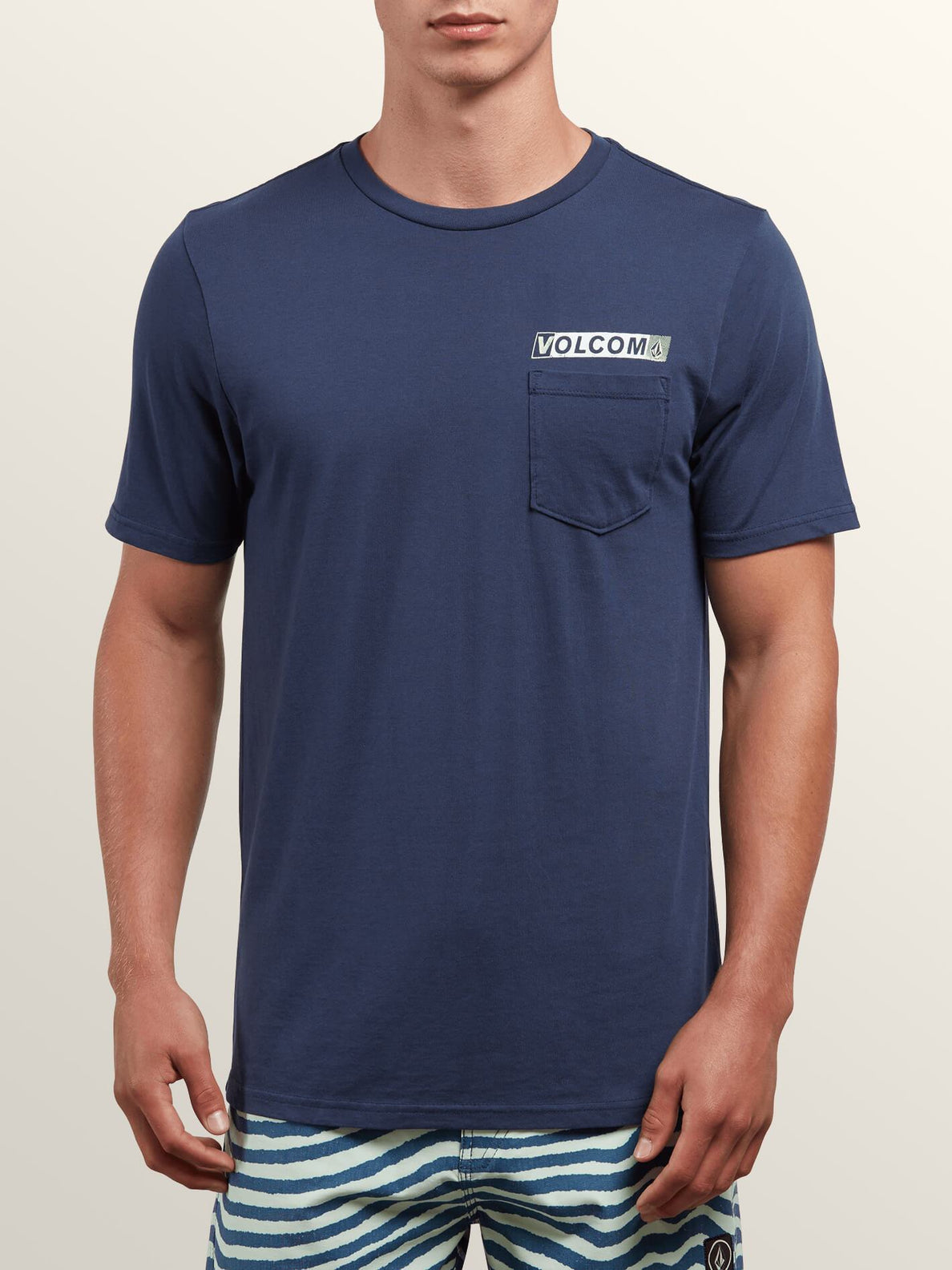 Rebel Radio Short Sleeve Tee - Navy