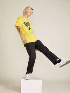 Noa Noise Head T-shirt - Cyber Yellow