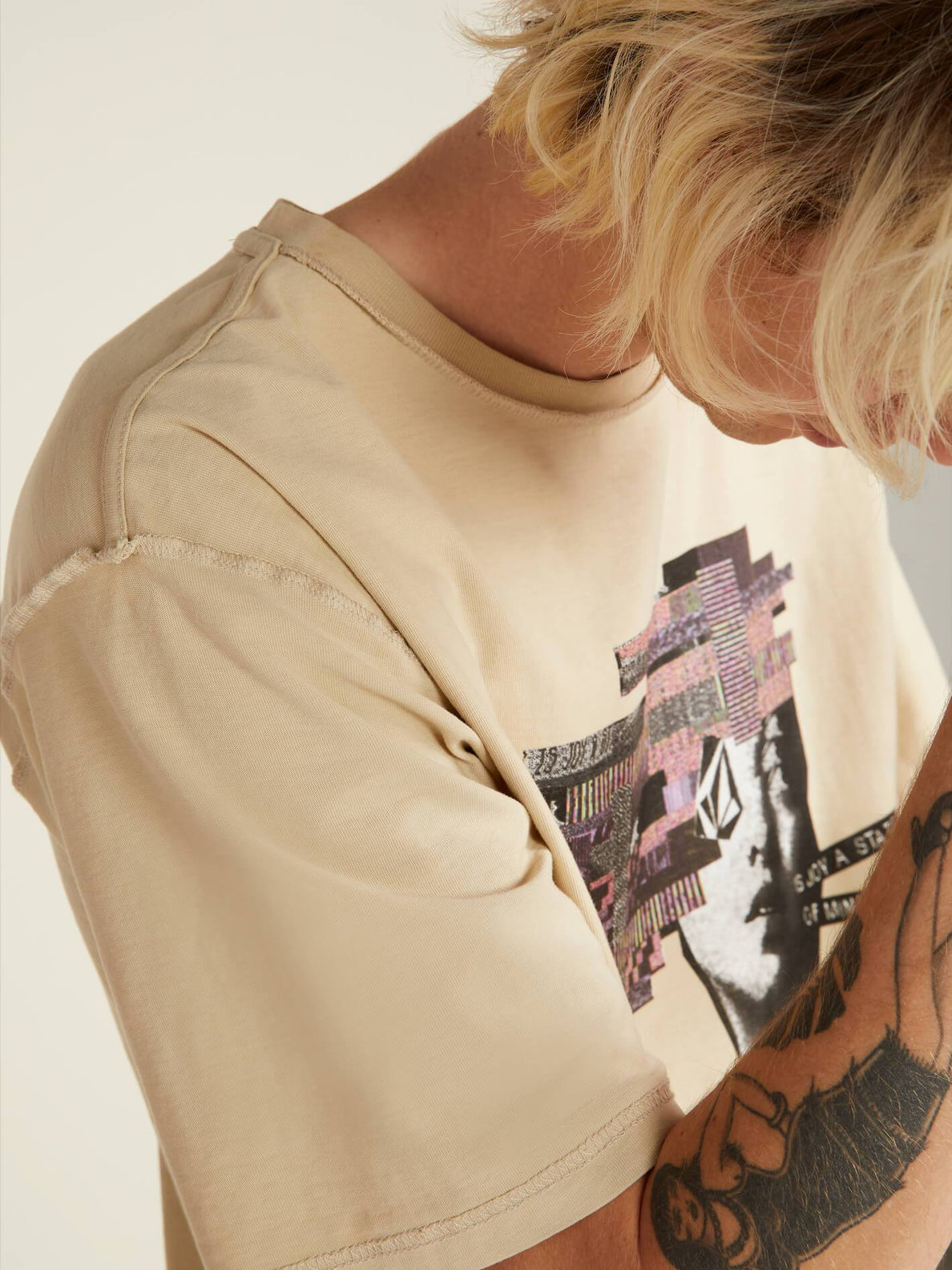 Noa Noise Head T-shirt - Clay