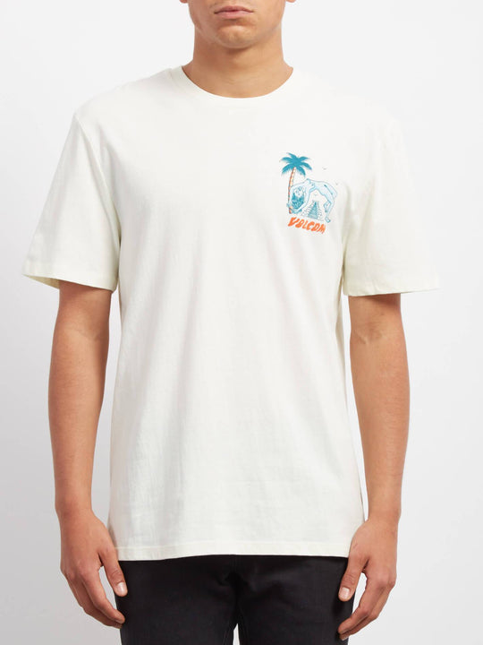 Cryptic Isle  T-shirt - Dirty White