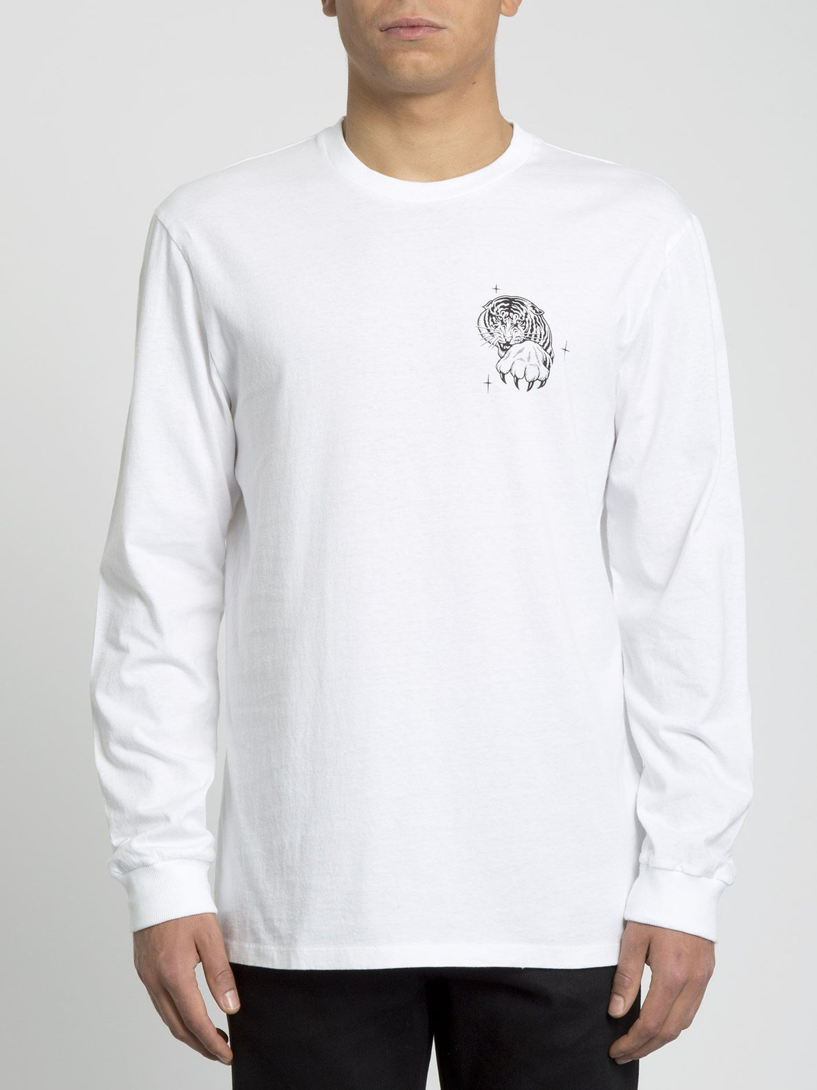 Mike Giant T-shirt - White (A4431951_WHT) [F]