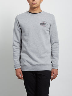 Supply Stone Crew Sweatshirt - Grey