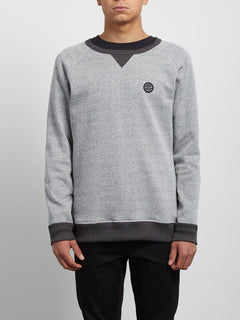 Homack Crew Sweatshirt - Heather Grey