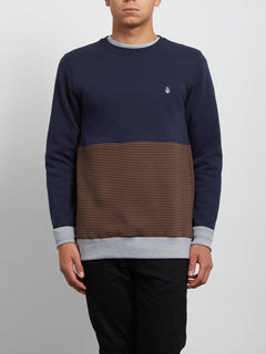 Threezy Crew Sweatshirt - Hazelnut