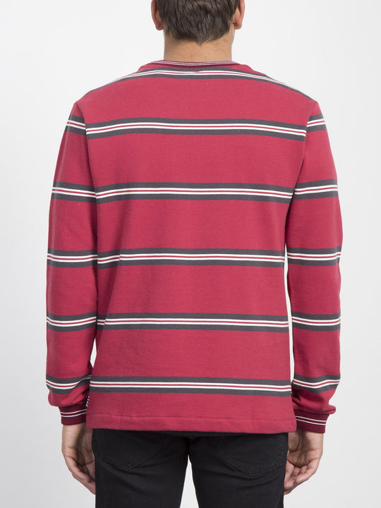 Canionne Crew Sweater  - Burgundy