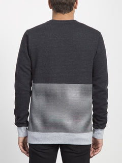 Threezy Crew Sweater  - Sulfur Black