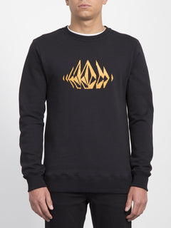 General Stone Sweater  - Black