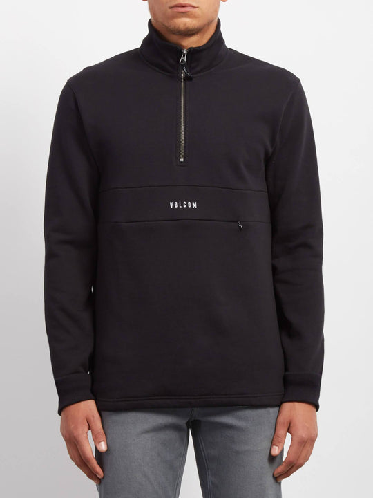 Rixon Mock Sweaters - Black