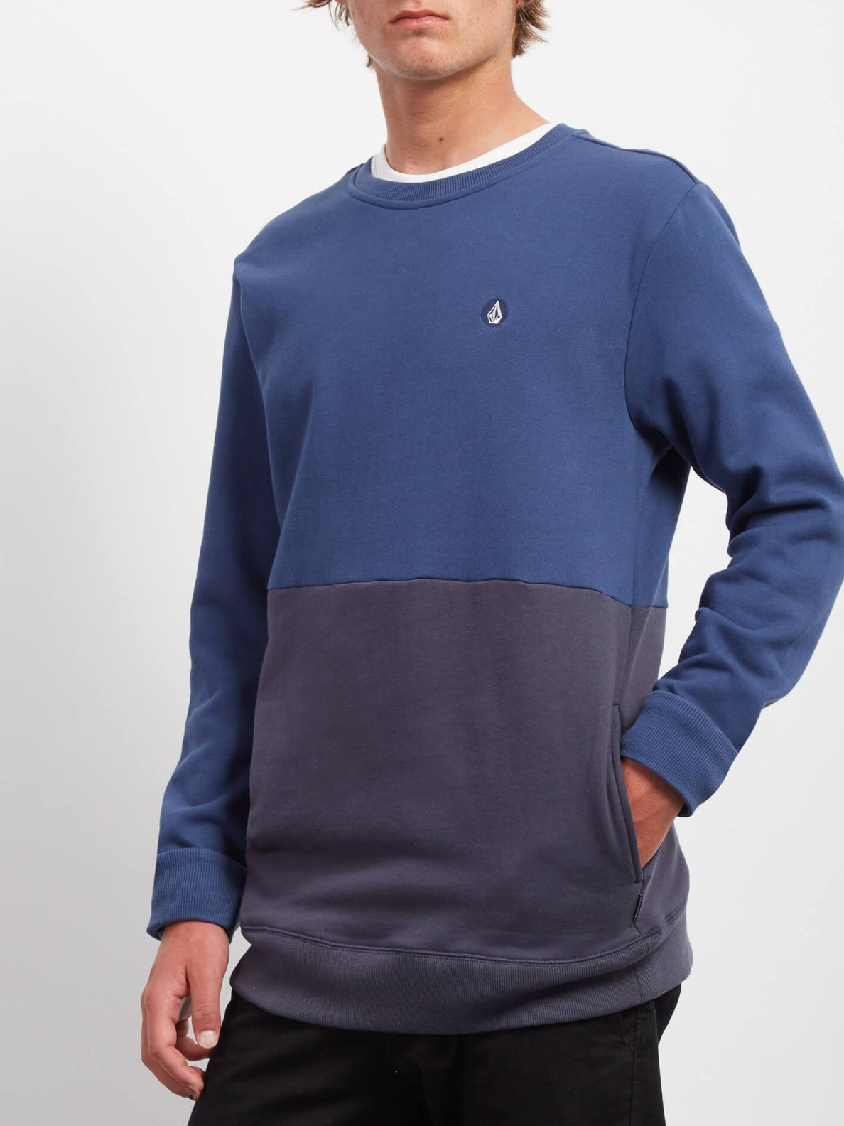 Single Stone Div Sweaters - Matured Blue