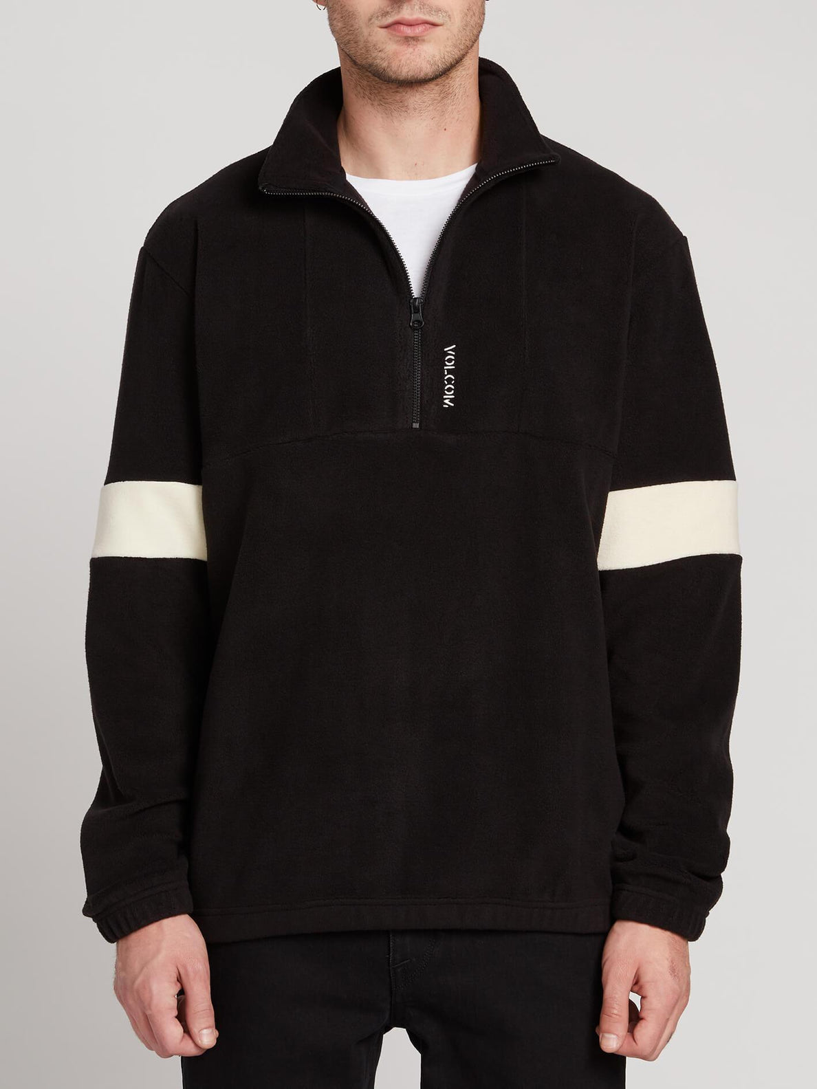 Trekker Sherpa Sweater - Black (A4631906_BLK) [1]