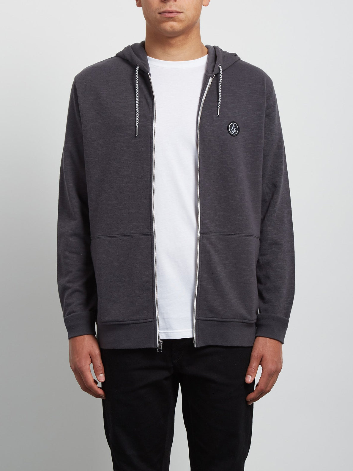 Litewarp Zip Hoodie - Heather Black