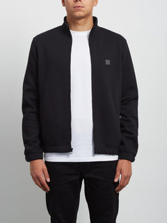 Hutson Zip Sweatshirt - Black