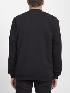 Thrifter Zip Sweater  - Black