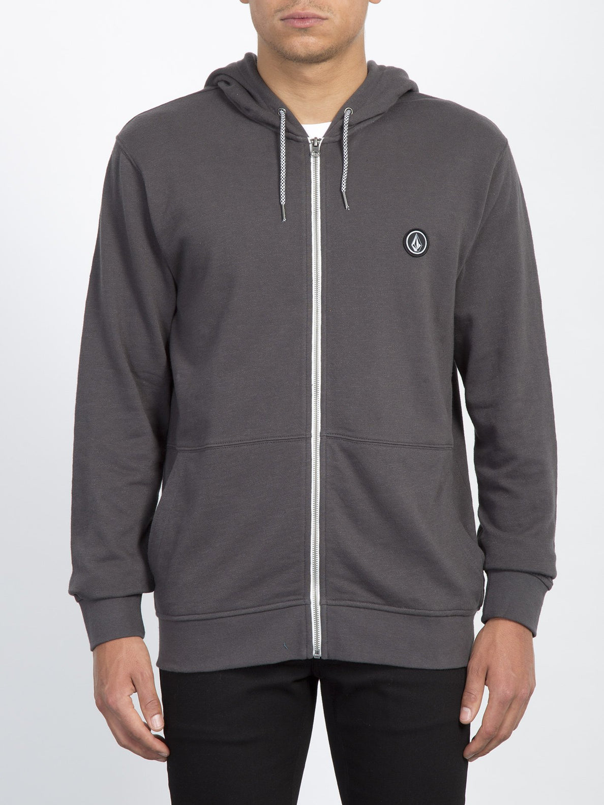 Litewarp Zip Sweater  - Heather Black