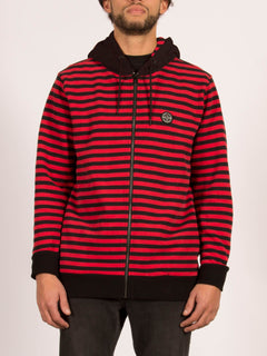 KRAYSTONE ZIP TRUE RED