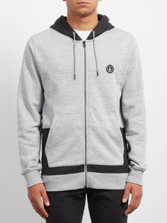 Backronym Zip Sweaters - Grey