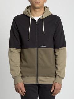 Single Stone Div Zip Hoodie - Military (A4831902_MIL) [F]