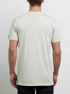 Pale Wash Solid Short Sleeve Tee - Clay