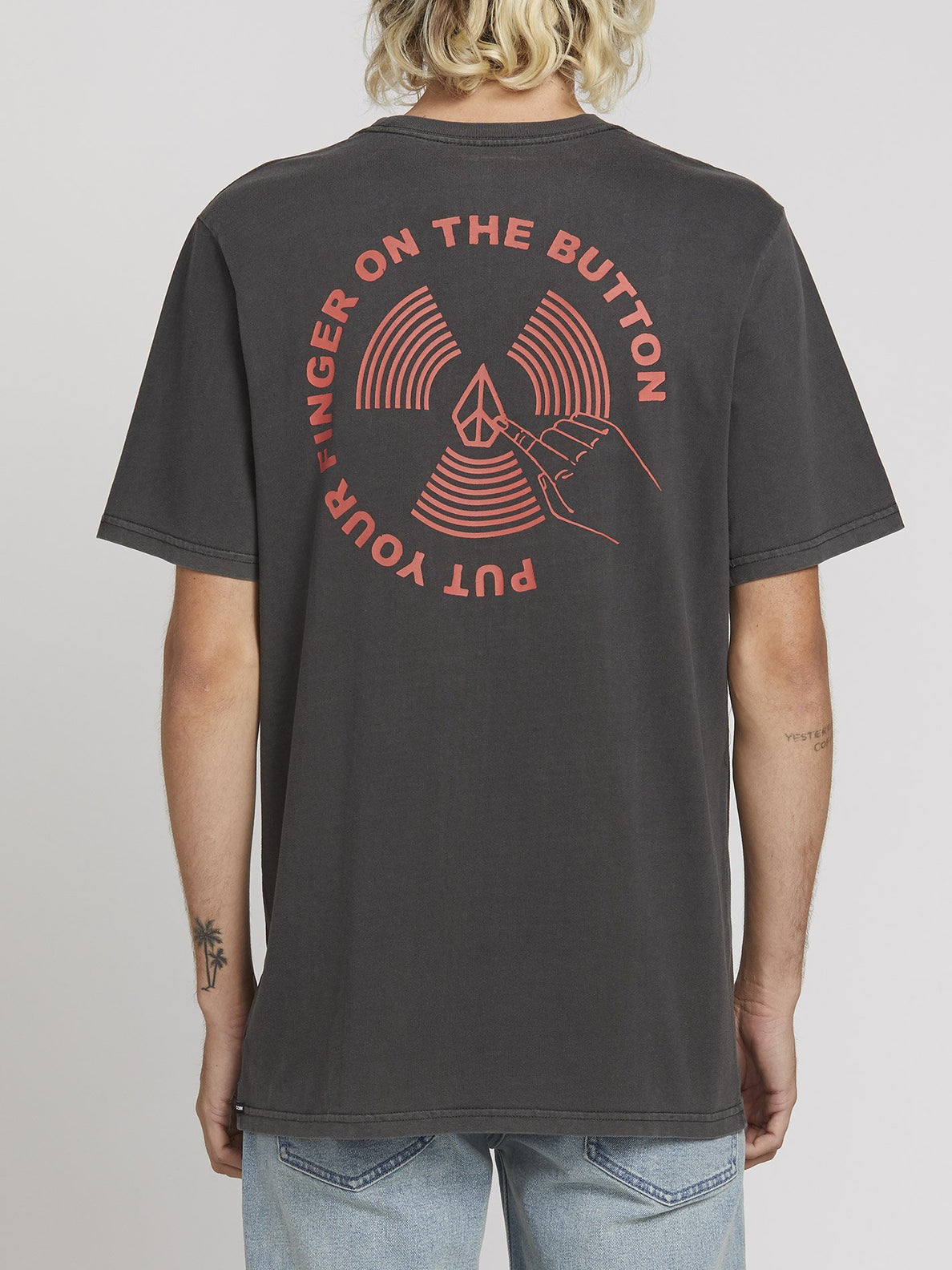 PUSH THIS S/S TEE (A5221902_BLK) [B]