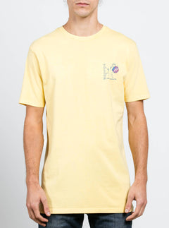 V.co Happy Time Tee - Light Yellow