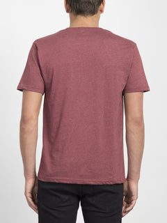 Pin Stone T-shirt  - Crimson