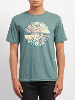 Collide Heather T-shirt - Pine