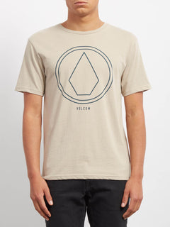 Pinline Stone Heather T-shirt - Oatmeal