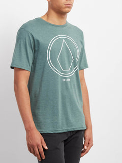 Pinline Stone Heather T-shirt - Pine