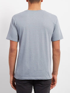 Line Tone Heather T-shirt - Arctic Blue