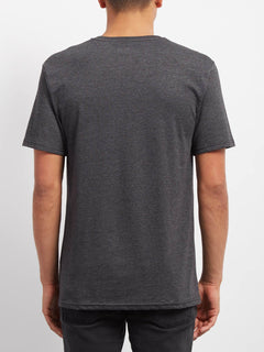 Line Tone Heather T-shirt - Heather Black