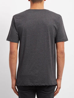En Route Heather T-shirt - Heather Black