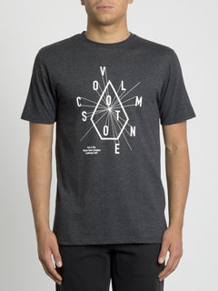 Eyechart T-shirt - Heather Black (A5731952_HBK) [F]