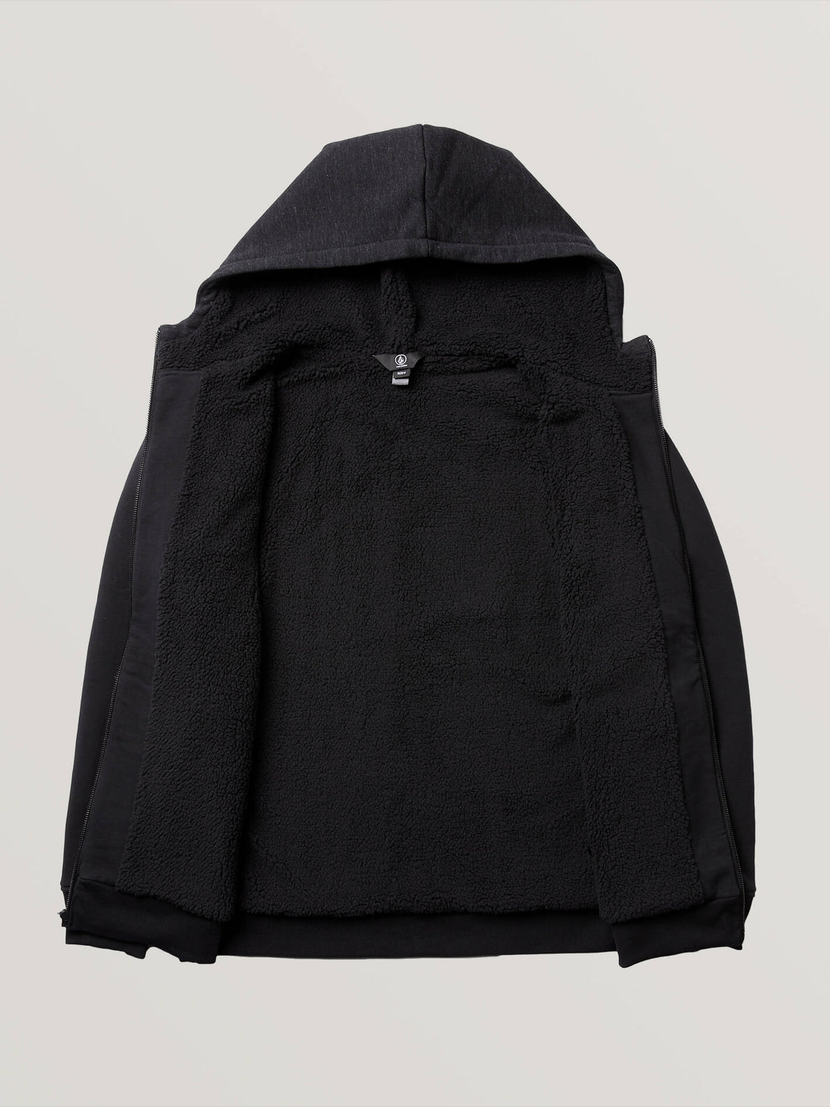 Single Stone Lined Zip Hoodie - Black (A5831900_BLK) [4]
