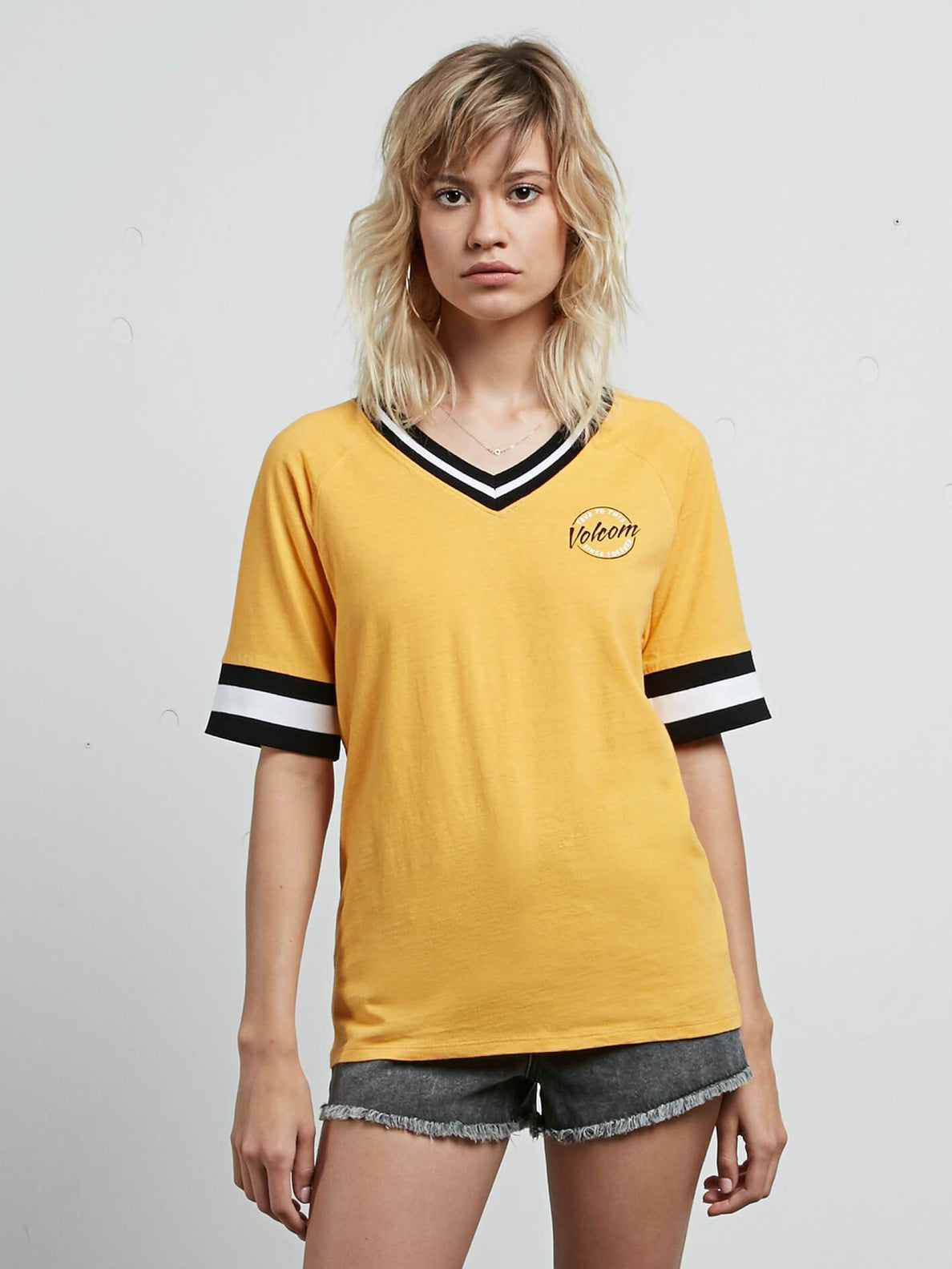 Outta Here Tee - Citrus Gold