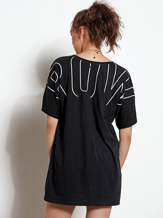 Stone Luv Tunic - Black