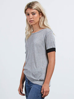 Simply Stone T-Shirt - Heather Grey