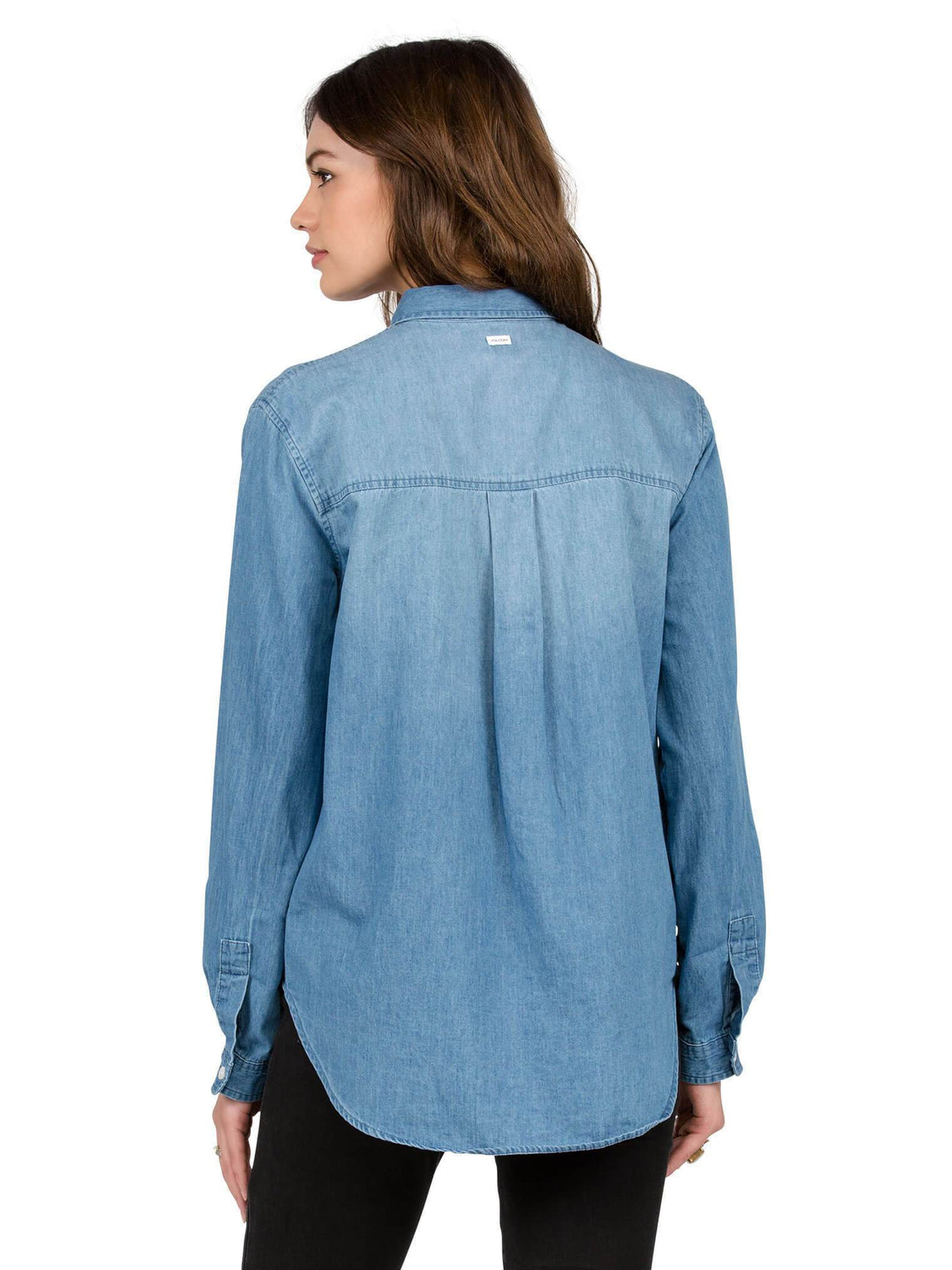 Cham Hey Long Sleeve Shirt - Cloud Blue