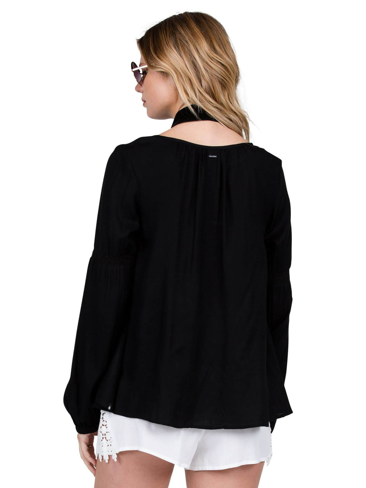 Ethos Long Sleeve Top - Black